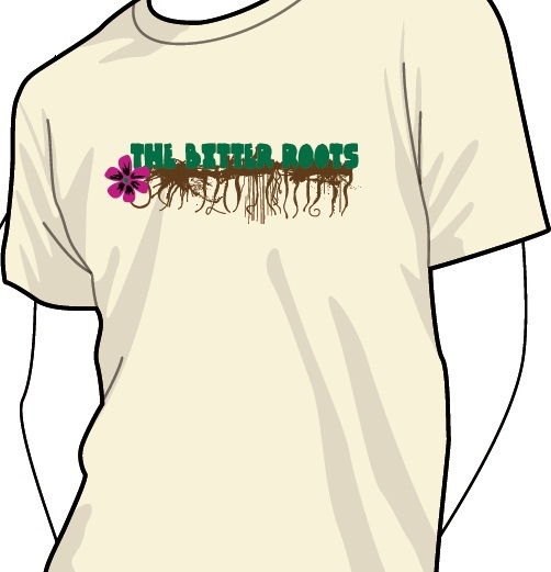 The Bitter Roots t-shirt